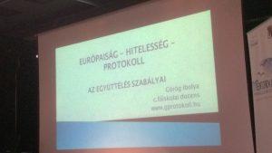Görög Ibolya előadása // A szerző fényképe