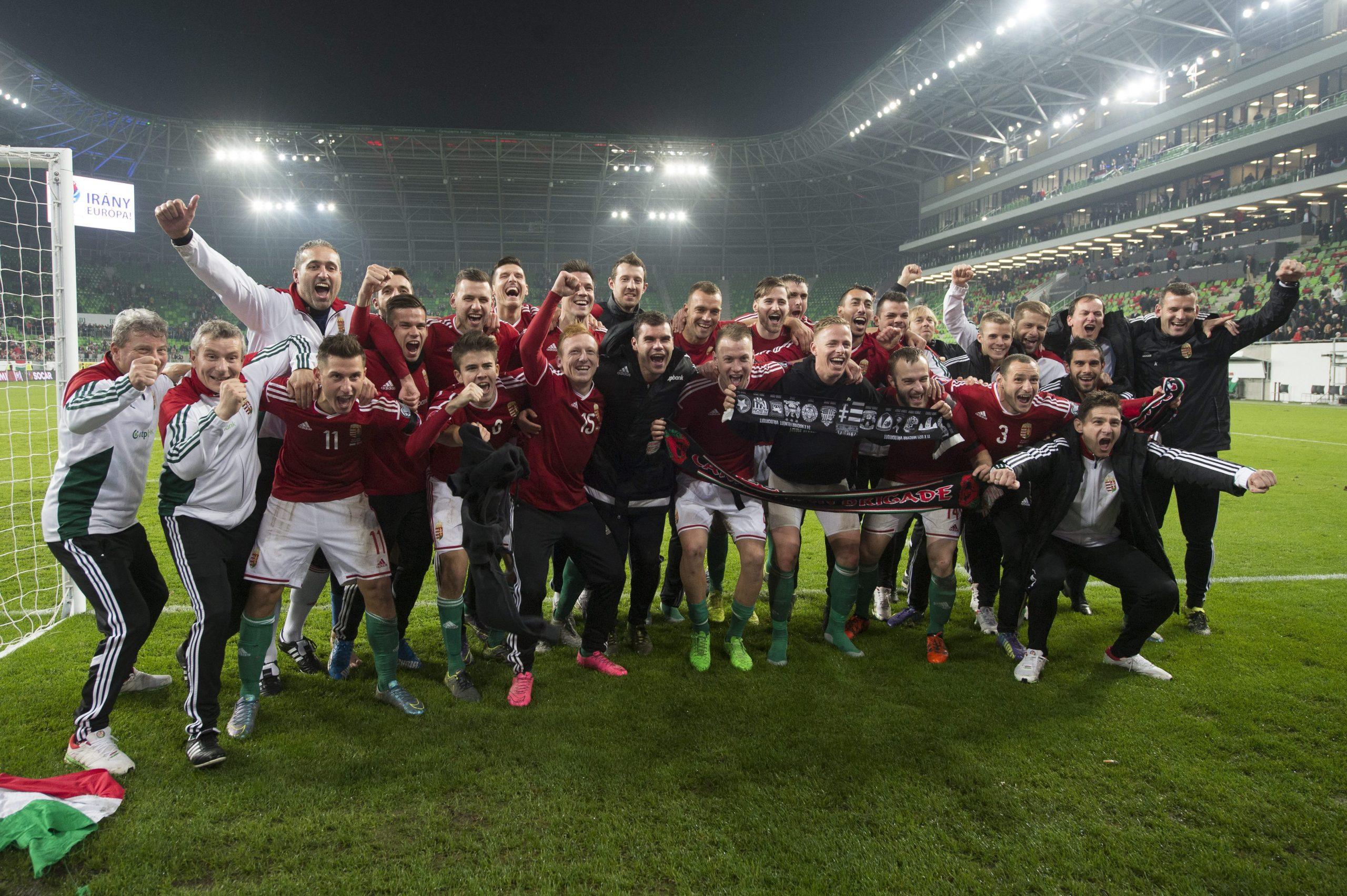 Magyarország újra foci EB-én!