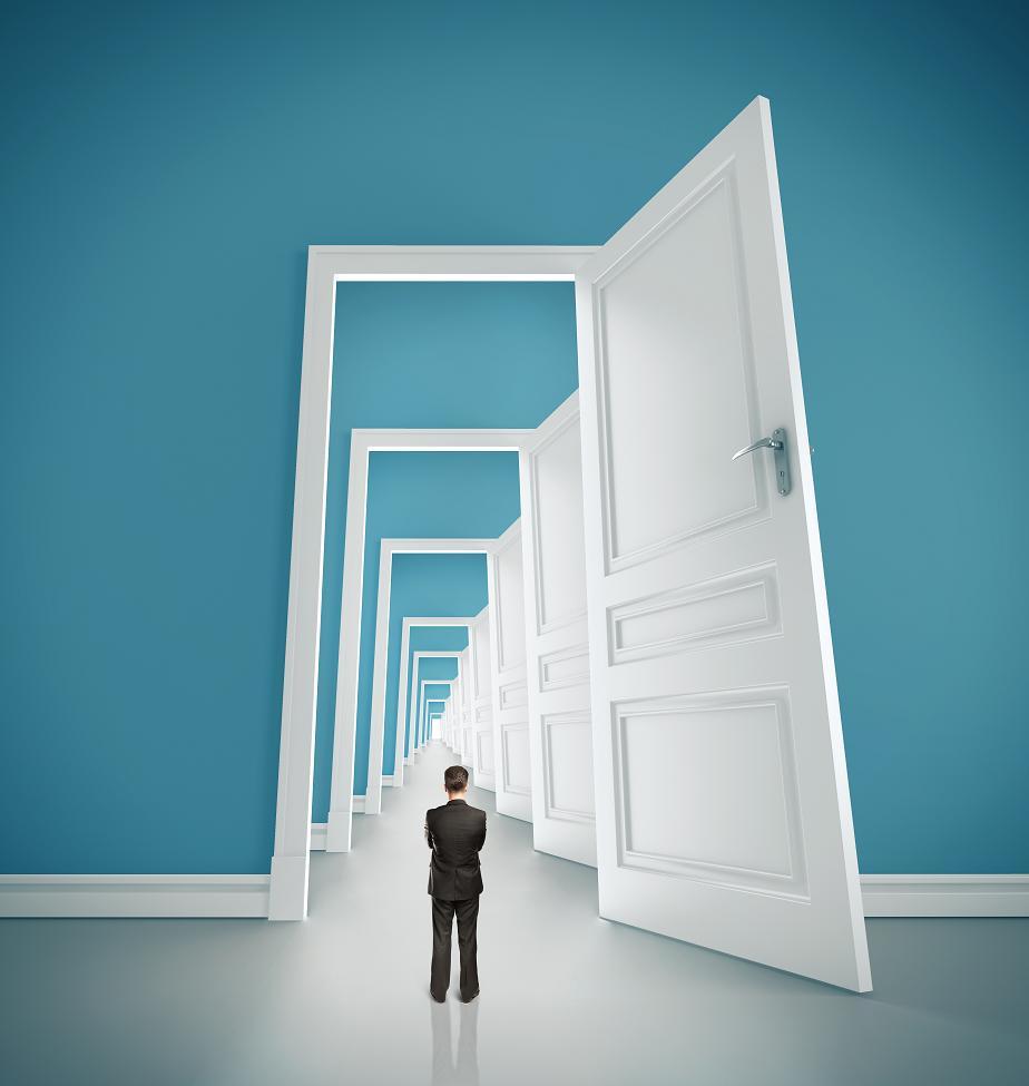 Amikor egy ajtó bezárul